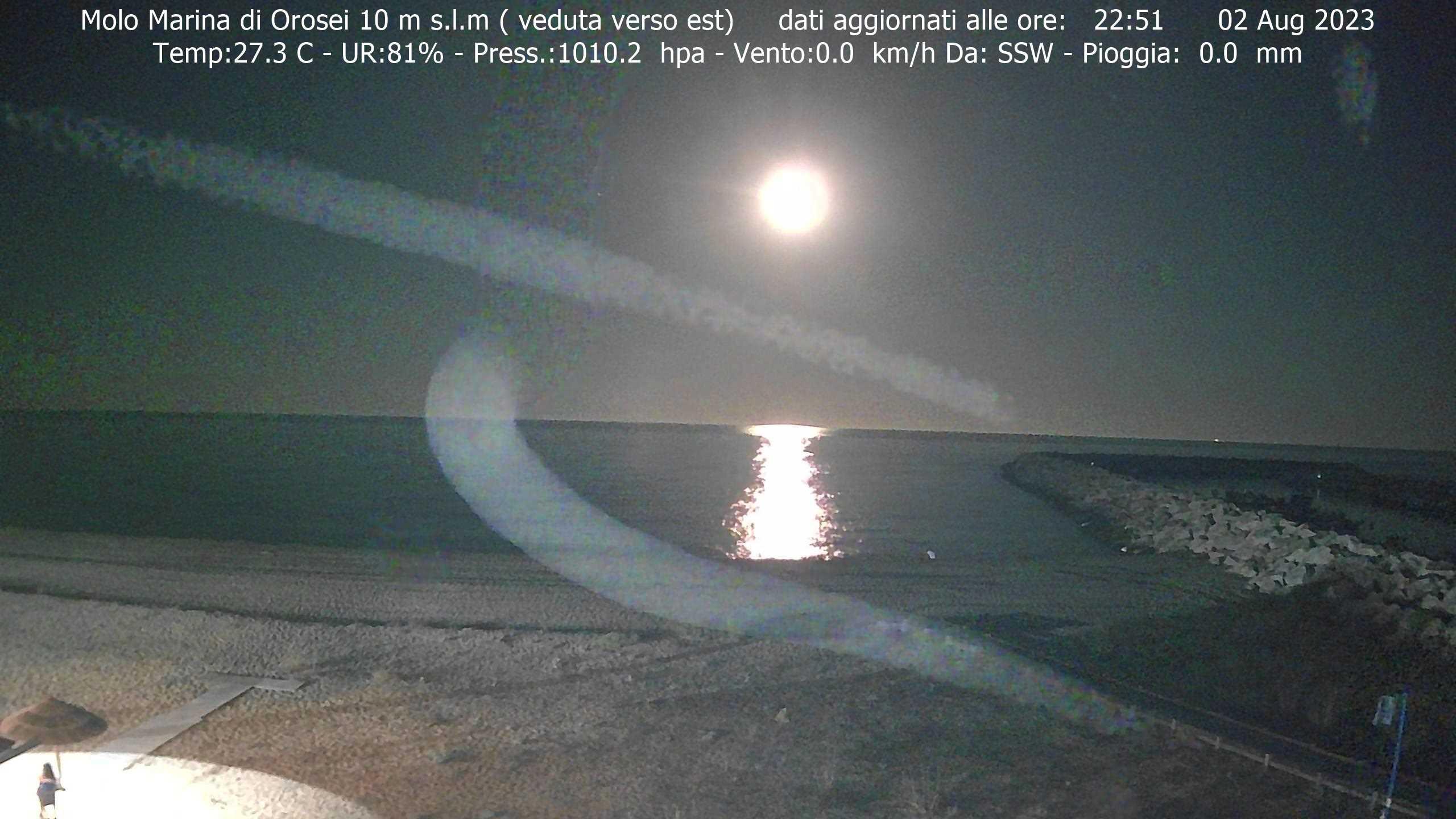 Webcam Orosei, Marina di Orosei - OroseiMeteo